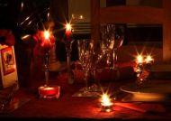 La cena a lume dicandela