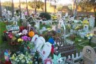 In cimitero atavola